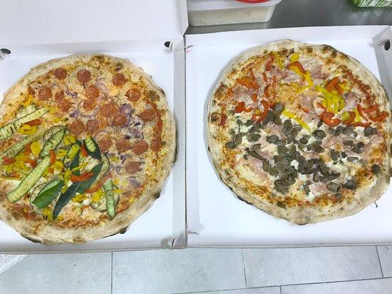 Mason Vicentino, Италия: pizze famiglia
