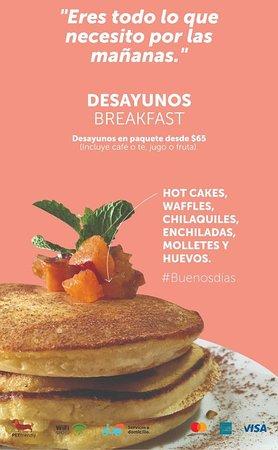 Desayunos - La forma más feliz de iniciar el día.