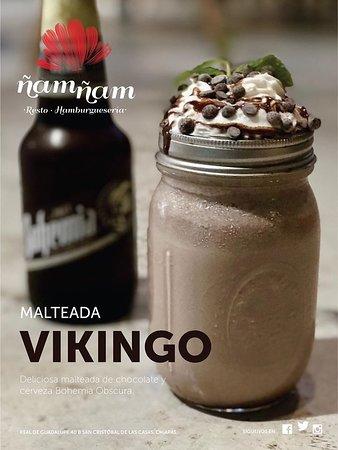 Malteada Vikingo - ¿Puede la cerveza ser aún mejor? Pruébala en una malteada.