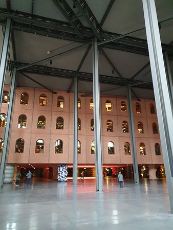 Un edificio increíble
