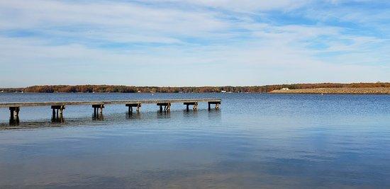 Bumpass, VA: Fishing dock