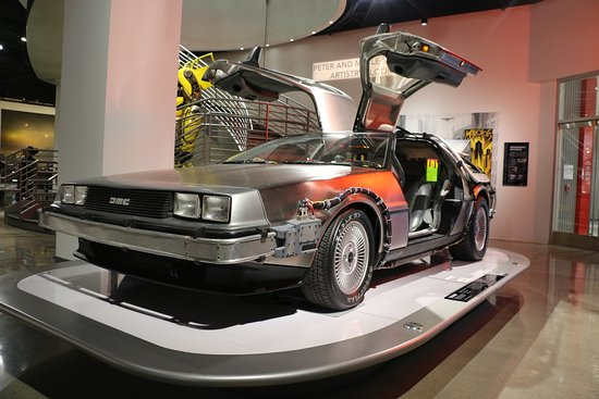 Skip the Line: Petersen Automotive Museum General Admission Ticket: Delorean from Back to the Future