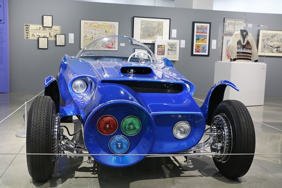 Skip the Line: Petersen Automotive Museum General Admission Ticket: Orbitron by Ed Roth