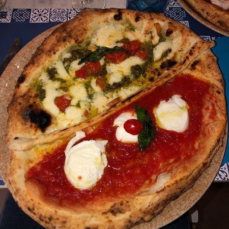 Pizza molto buona e personale
