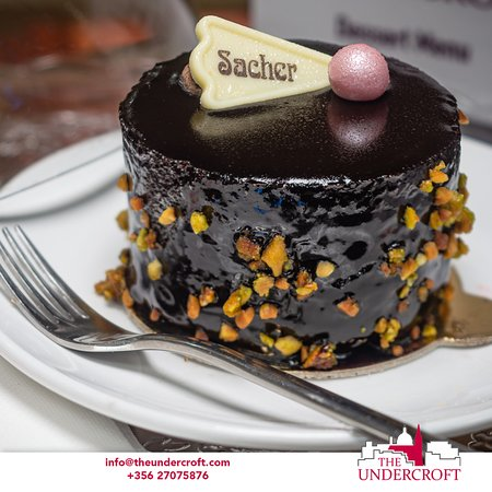 Freshly made cakes and pastries