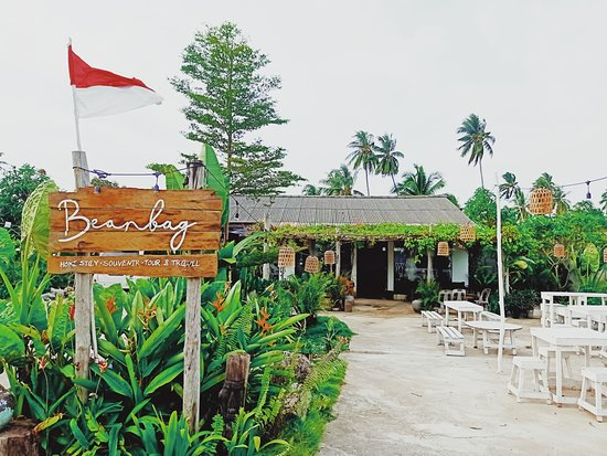 Main gate of Beanbag Bintan