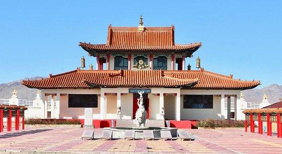 Khovd. Buddhist monastic complex.
