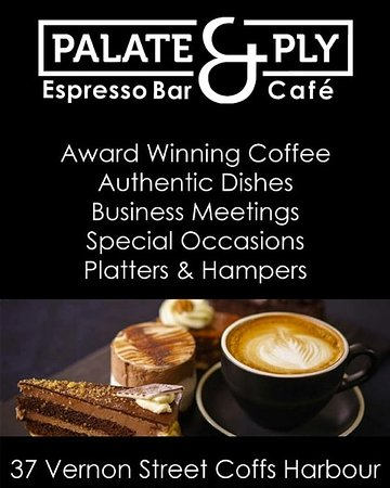 Great coffee, meeting space & we also do hampers and platters.