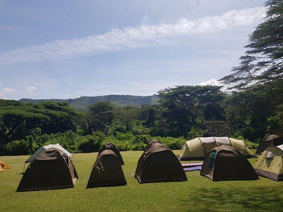 Gilgil, Кения: camping area