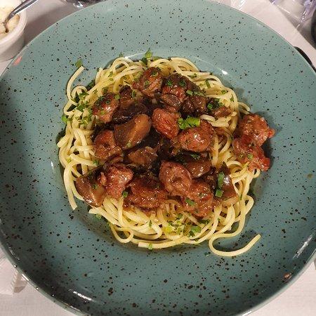 Linguine saucisse italienne