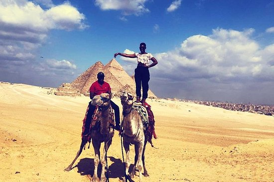 Ride a Camel at Pyramids of Giza