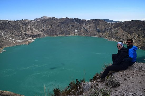 Quilotoa Lake privat sightseeingtur