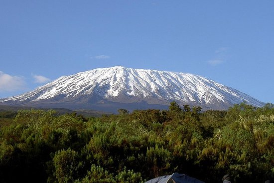 3 jours de goût du mont. Kilimandjaro...