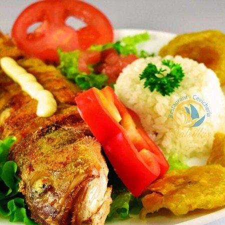San Lorenzo, Эквадор: Camotillo Frito en Las Balsillas restaurant de Liguiqui donde comer es una delicia