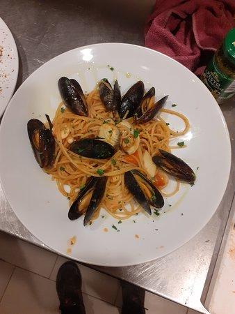 Costigliole Saluzzo, Italia: Spaghetti allo Scoglio