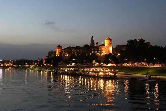 Krakow by night 60 minutes cruise The...
