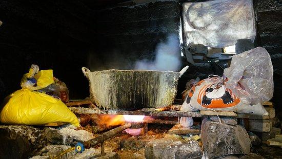 Salinas, Эквадор: proceso de sal