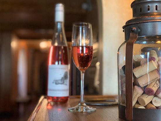 Lancaster, NY: Scott Bronstein, the owner of Barnstormer Winery and his team have really out done themselves with this 2018 Blaufrankish Rose. Thinking outside the box and trying something like this, propels Scott and his team have created a Master Wine. Six Friends Cabernet was selected by Scott to debut this amazing and delicious wine.