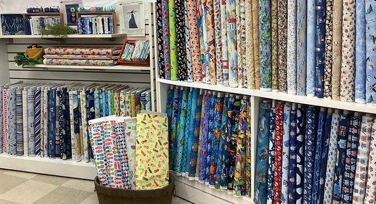 Colchester, CT : Over 500 Novelty fabrics are in stock. Something for everyone.