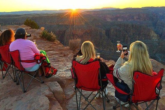 Grand Canyon West Sunset Tour from Las...