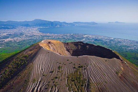 Privé Pompeii en de Vesuvius uit Napels