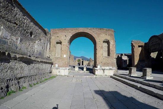 Privé Pompeii en lokale wijnproeverij ...