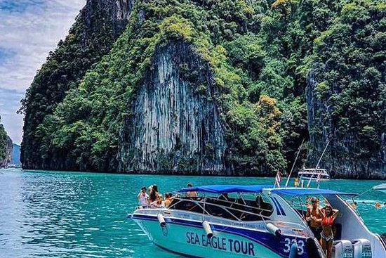 Phi Phi Maiton Island-tur med hurtigbåd
