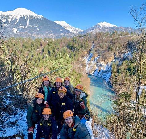 Zgornji Brnik, Slovenia: Zipline, Bled (Winter Wonderland Slovenia tour)