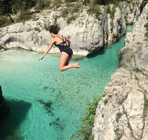 Zgornji Brnik, Slovenia: Soca river (Wild Slovenia tour)