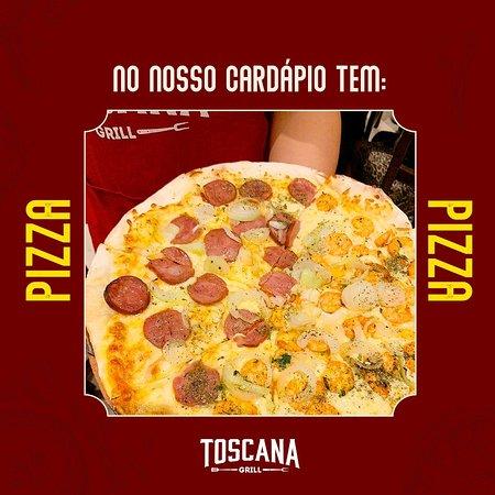 Toscana Grill, cardápio que agrada todos os gostos.