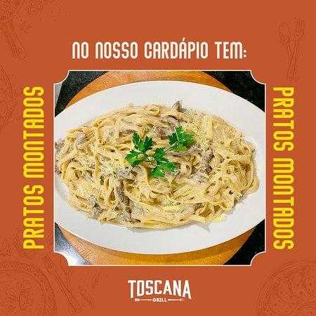 Toscana Grill, cardápio diversificado para todos os gostos.