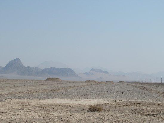 Desert near Chak Chak almost devoid of plants