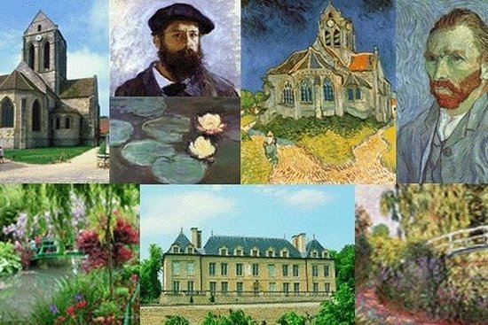 On the road of Impressionists : Guided...