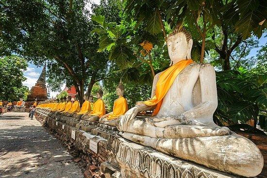 Ganztägige private Tour nach Ayutthaya...