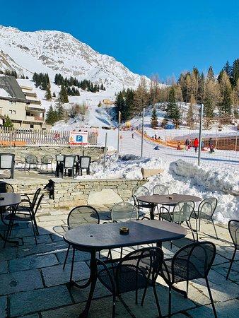 San Bernardino, Suiza: La terrazza su Pian Cales