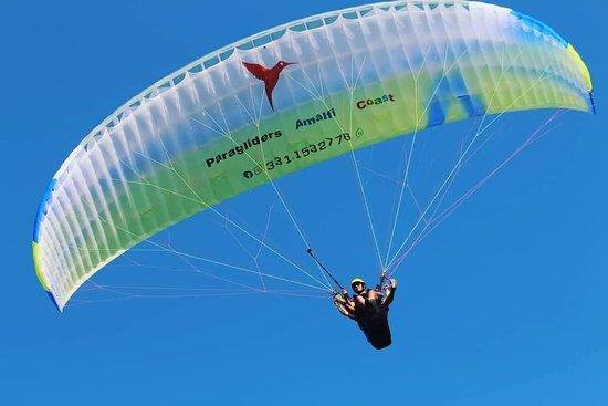 Paragliders Amalfi Coast