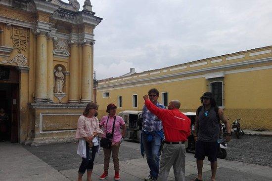 Visite culturelle à pied à La Antigua
