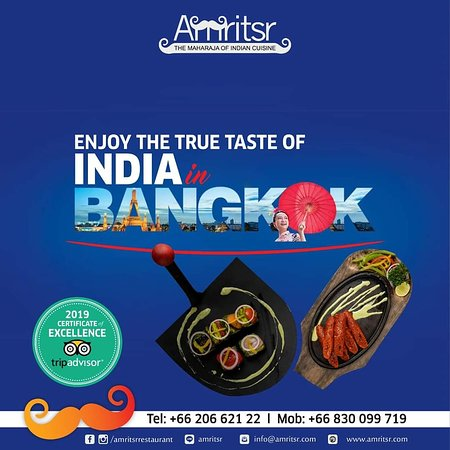 Ever thought how real #IndianFood tastes like in Bangkok? Have India on your plate. Get the authentic Indian taste at Amritsr  For Reservations call @ +66830099719 | +6620662122  Order Online - http://bit.ly/2qsgEiz  We are the ONLY Amritsari restaurant which delivers anywhere in Bangkok and we are OPEN till 4 AM.  #Amritsr #AmritsrBangkok #Sukhumvit #Soi22 #FoodVibes #FoodLovers #Menu #FoodMenu #OrderOnline #FoodOnline #Foodie#BangkokFoodies #Ban#FoodDelivery