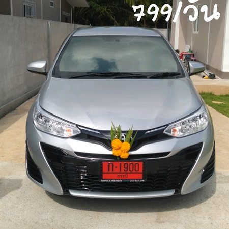 Khlong Prasong, Таиланд: Car rental krabi start 799 per day  New car  +66 954290990 www.megacarrent.com