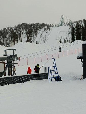 Ruka, Finland: Ski slope