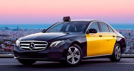 Taxi Mercedes Barcelona
