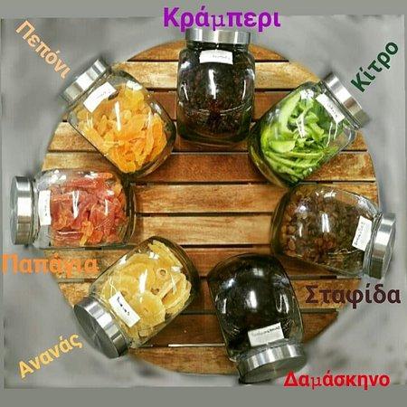Asopos, Греция: Αποξηραμένα φρούτα