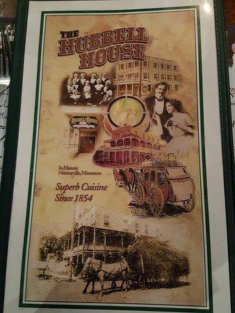 Mantorville, MN: menu cover