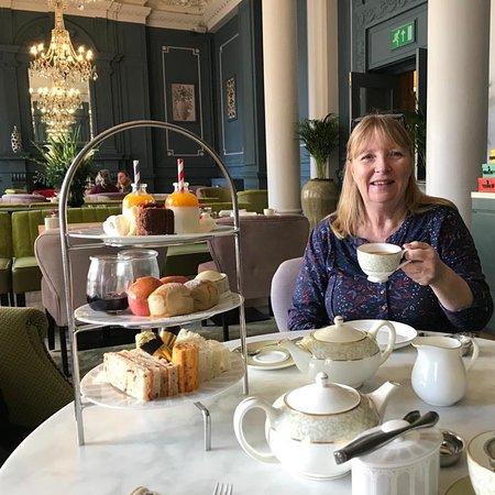 Delightful afternoon tea
