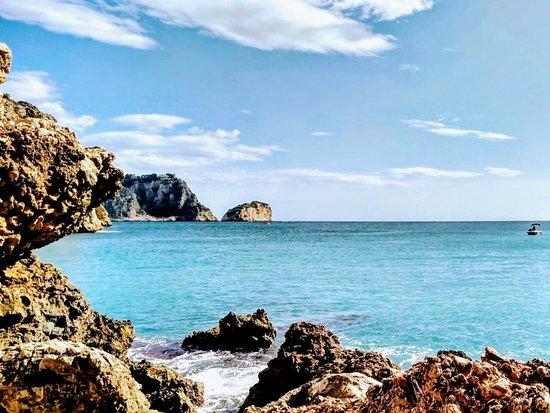 Province d'Alicante, Espagne : Mar Mediterráneo en la costa de Jávea/Xàbia