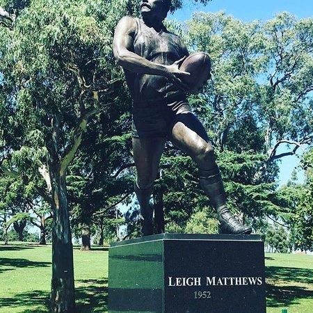 Leigh Matthews Statue