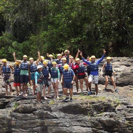 Taboquinhas: Planeta Rafting, aventura no rio de contas. A Equipe transmite confiança, são experientes. Recomendo!!