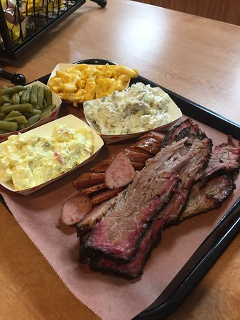 Crandall, TX: 2 Meat Plate