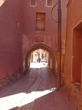 Abyaneh Village, Kashan, Isfahan Province. Abyneh is famous for its unique structure and red clay houses.