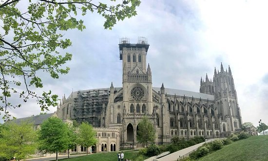 Entrada a la Catedral Nacional de Washington: cathedral